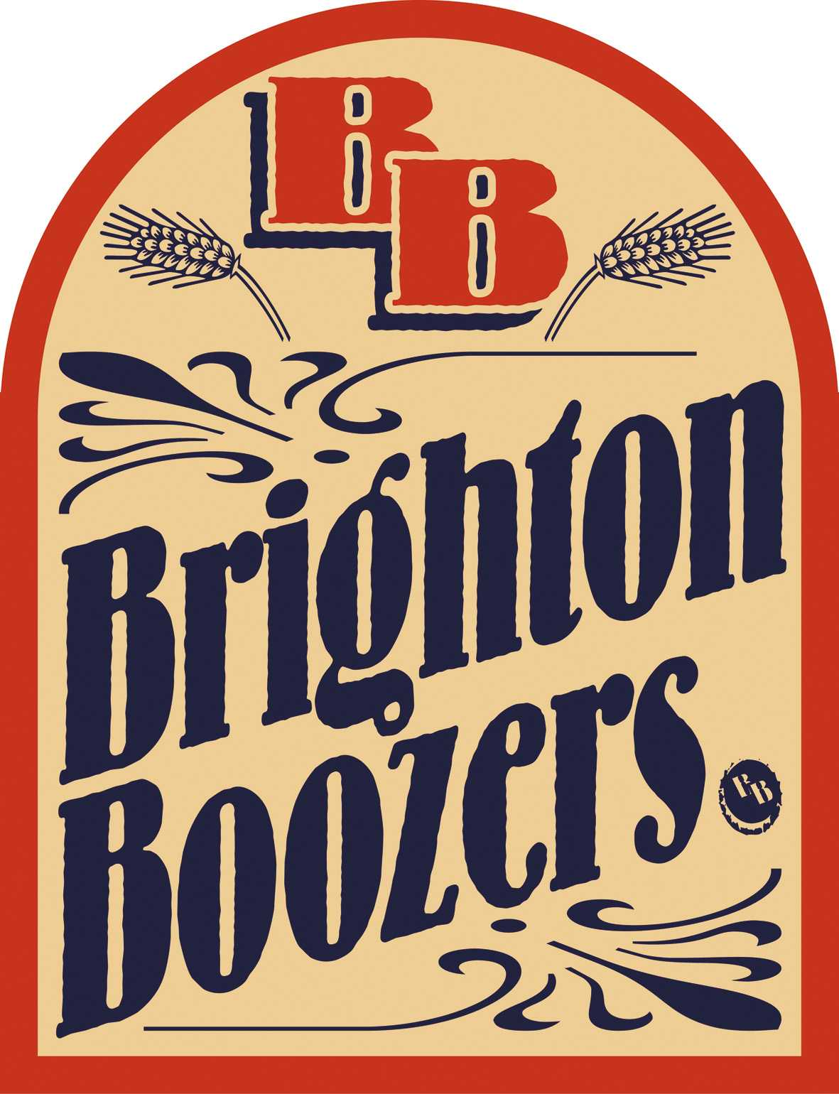 about rose collis brighton boozers logo
